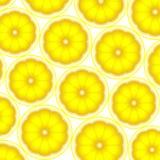 Zitronen färbten Hintergrund stock abbildung