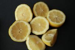 Zitronen geschnitten Lizenzfreies Stockbild