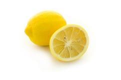 Zitronen getrennt Stockfotografie