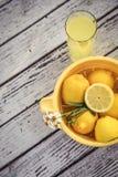 Zitronen-Hilfe Lizenzfreies Stockfoto