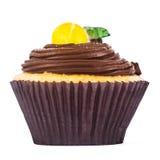 Zitronen-kleiner Kuchen Lizenzfreie Stockfotos