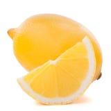 Zitronen- oder ZitronenZitrusfrucht Stockbilder