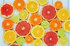 Zitronen, Orangen und Kalke Lizenzfreie Stockfotografie