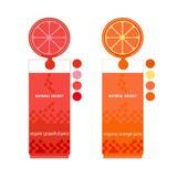 Zitronen, Orangen und Kalke lizenzfreie abbildung