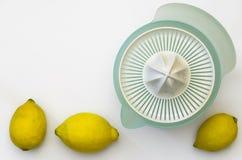 Zitronen-Quetscher 04-Lemons lizenzfreie stockfotografie