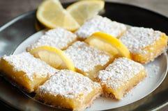 Zitronen-Stangen stockbild
