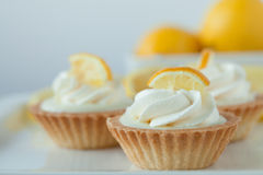 Zitronen-Törtchen Lizenzfreie Stockfotos