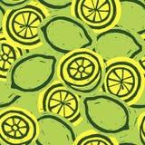 zitronen Trägt Hintergrund Früchte Zitrusfruchtmuster ENV-Datei eingeschlossen Stockfoto