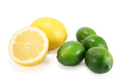 Zitronen und Kalke Lizenzfreie Stockfotografie