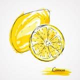 Zitronenfrüchte Lizenzfreies Stockfoto