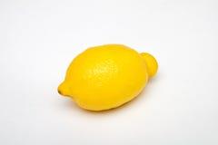 Zitronenfrucht auf weißen Hintergründen Stockfotografie