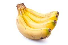 Zitronengelbe Bananen Lizenzfreie Stockbilder