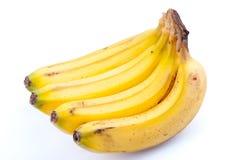 Zitronengelbe Bananen Lizenzfreies Stockbild