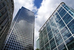 Zitronengelbe Kai-Gebäude lizenzfreies stockfoto