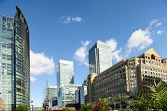 Zitronengelber Kai London England Großbritannien Lizenzfreies Stockbild