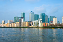 Zitronengelber Kai, London, Großbritannien Stockfoto