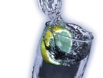 Zitronengelbes Getränk Stockfotos