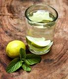 Zitronengetränk Lizenzfreies Stockbild