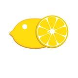 Zitronenikone Lizenzfreies Stockbild