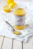 Zitronenklumpen Lizenzfreie Stockbilder