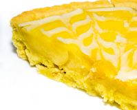 Zitronenkuchen Lizenzfreie Stockfotografie