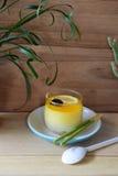 Zitronenkuchen stockbild