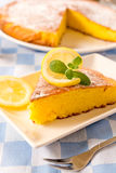 Zitronenkuchen Stockfoto