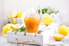 Zitronenmarmelade Lizenzfreies Stockbild