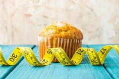Zitronenmuffin lizenzfreies stockfoto
