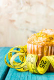 Zitronenmuffin lizenzfreie stockbilder
