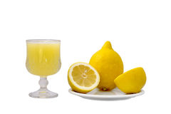 Zitronenpressung Stockbilder