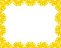 Zitronenrahmen Stockbild