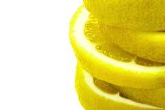 Zitronenscheiben Lizenzfreie Stockfotografie