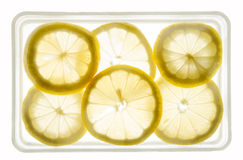 Zitronenscheiben Lizenzfreies Stockbild