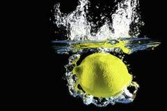 Zitronenspritzen Lizenzfreie Stockfotografie
