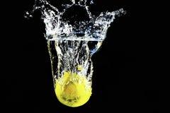 Zitronenspritzen Lizenzfreies Stockbild