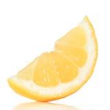 Zitronescheibe Lizenzfreie Stockfotografie