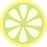 Zitronescheibe Stockfotografie