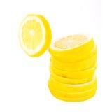 Zitronescheiben Stockbilder