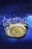 Zitronespritzen Lizenzfreies Stockfoto