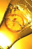Zitronespritzen Lizenzfreies Stockbild