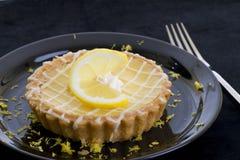 Zitronetörtchen Stockfotografie