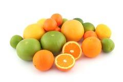 Zitrusfrüchte; Kalke. Orangen? Lizenzfreies Stockbild