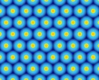 Zitrusfrucht-Kleckse Stockbild