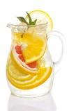 Zitrusfrucht limonade lokalisiert Lizenzfreies Stockbild