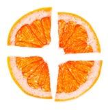 Zitrusfrucht-Scheiben stockbilder