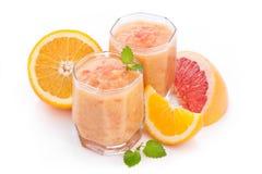 Zitrusfrucht Smoothie Stockfoto