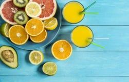 Zitrusfruchtgeist Stockbild