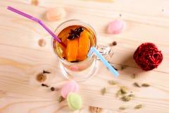 Zitrusfruchtgrog coctail Lizenzfreies Stockbild