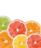 Zitrusfruchthintergrund Stockfoto
